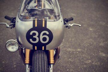 Triumph Thruxton R | Barbour International