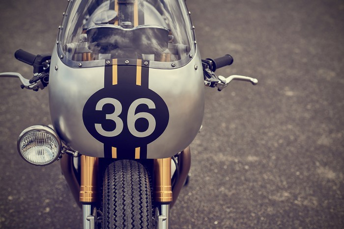 Triumph Thruxton R | Barbour International