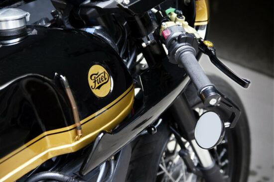 FUEL Bespoke Motorcycles Ducati STRADA Cafe Racer-2 | CustomBike.cc