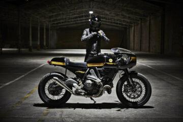 FUEL Bespoke Motorcycles Ducati Scrambler Cafe Racer | CustomBike.cc