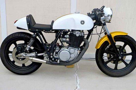 LOSSA 1978 Yamaha SR500   CustomBike