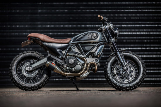 Down & Out Cafe Racers Ducati Scrambler