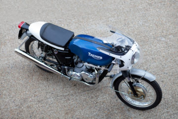 The Baron's Speed Shop Triumph