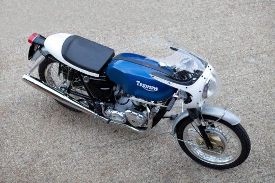 The Baron's Speed Shop Triumph