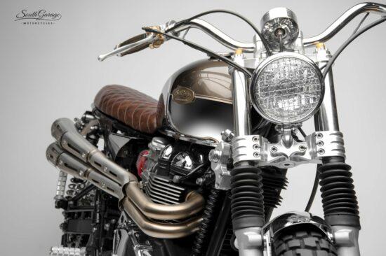 South Garage Triumph Scrambler | CustomBike.cc