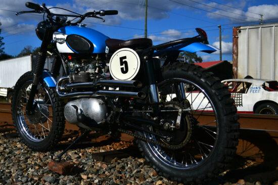 Xcrambler Cycles Triumph Desert Racer 3