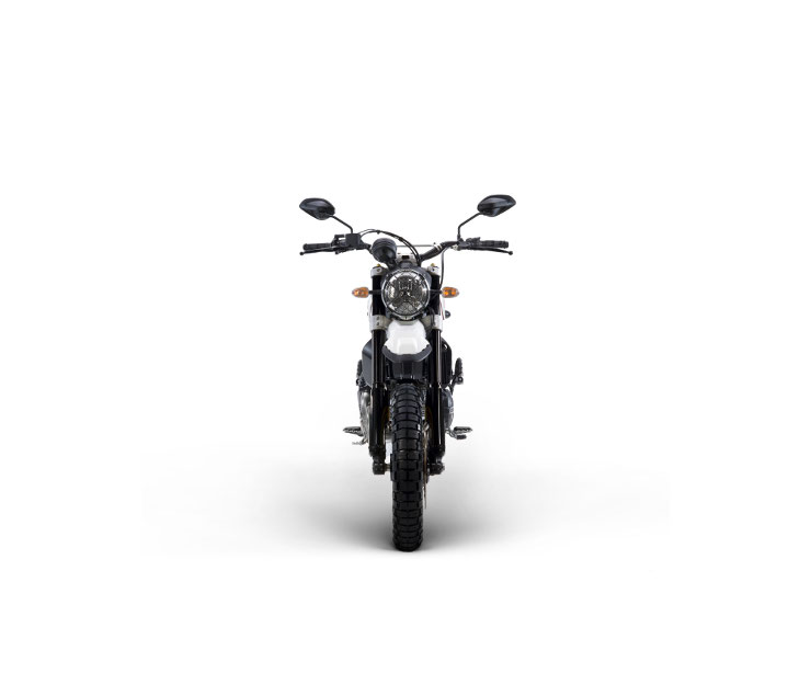 Ducati Scrambler Desert Sled [front] | CustomBike.cc