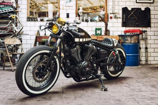 Kingston Customs, Yamaha Yard Built