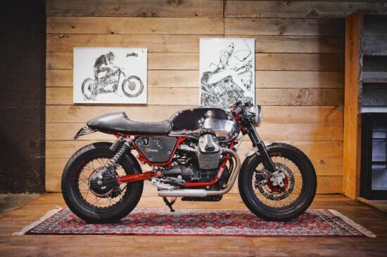 BAAK MOTOCYCLETTES Moto Guzzi V7 Racer Limited   CustomBike.cc