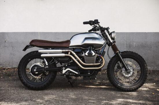 BAAK MOTOCYCLETTES Moto Guzzi V7 Scrambler | CustomBike.cc