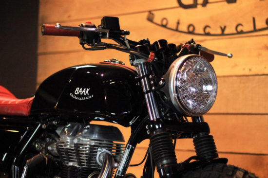 BAAK MOTOCYCLETTES Royal Enfield GT Continental | CustomBike.cc