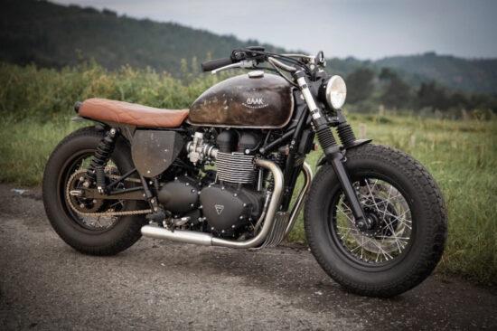 BAAK MOTOCYCLETTES Triumph Bonneville Bobber | CustomBike.cc