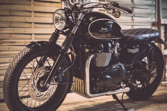 BAAK MOTOCYCLETTES Triumph Dandy Bonnie | CustomBike.cc