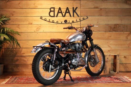 BAAK MOTOCYCLETTES Royal Enfield Tracker   CustomBike.cc