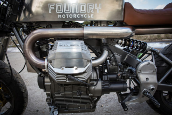 Foundry Motorcycles 1998 Moto Guzzi, 1100i Sport | CustomBike.cc