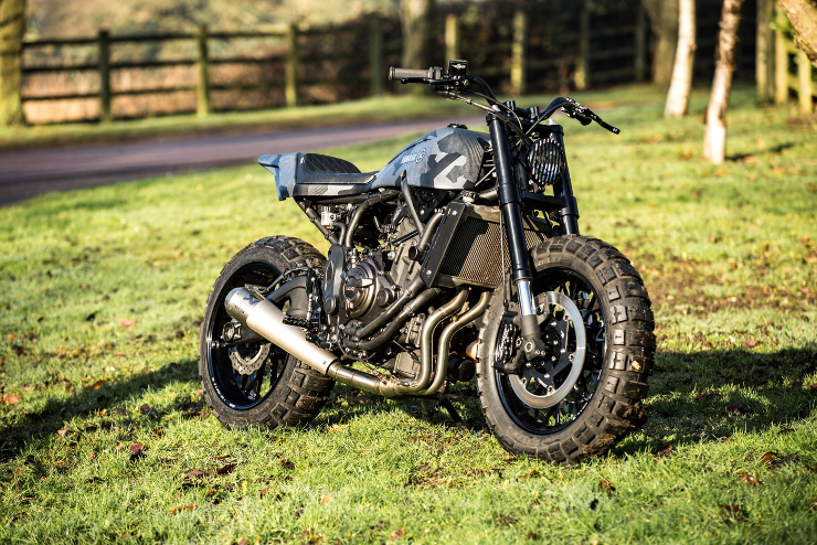 Yamaha Yard Build   Rough Crafts XSR700   CustomBike.cc