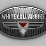 White Collar Bike Logo