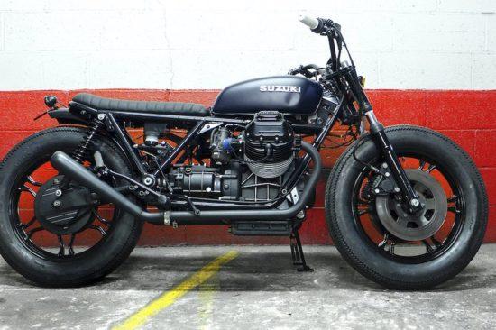 Blitz Motorcycles Moto Guzzi Suzuki hybrid