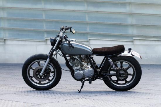 Cafe Racer SSpirit Bratstyle Yamaha   CustomBIKE.cc
