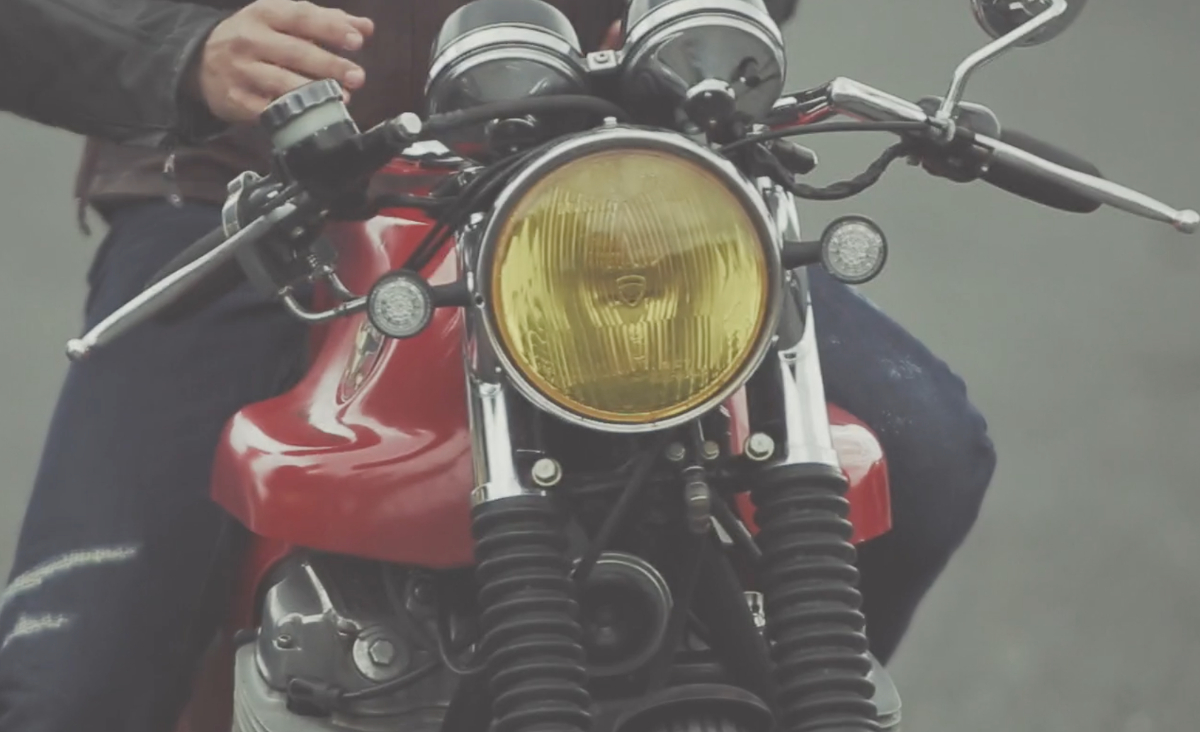 Cafe Racer SSPIRIT VIDEO