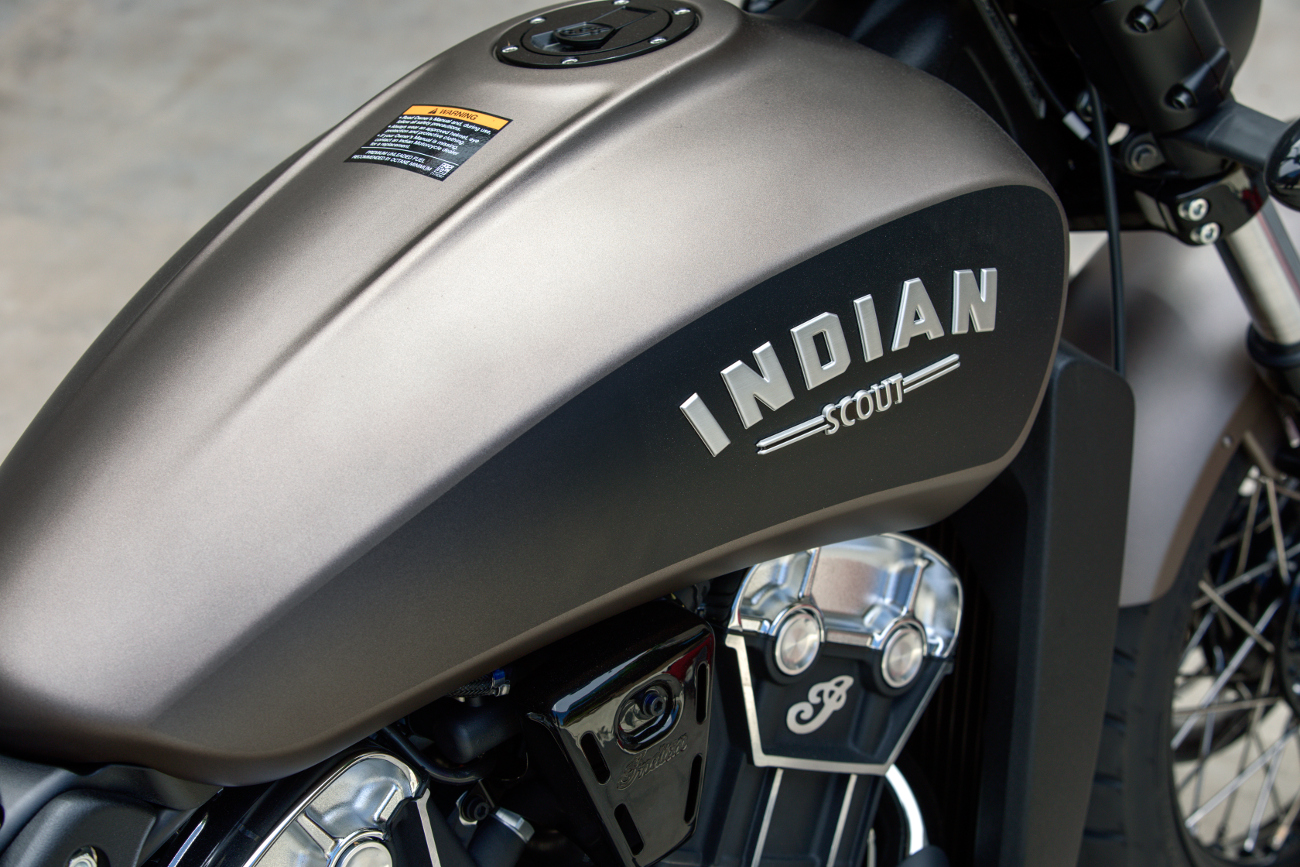 2018 Indian Scout Bobber BRONZE SMOKE