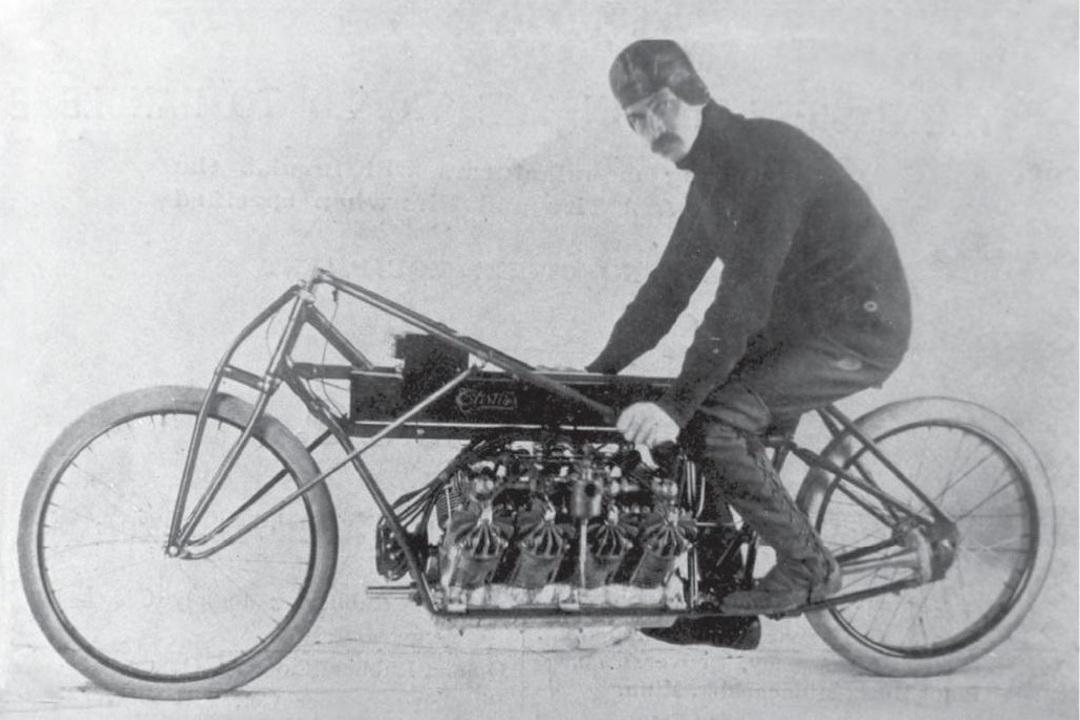 Glenn Curtiss V-8 Motorcycle 1907