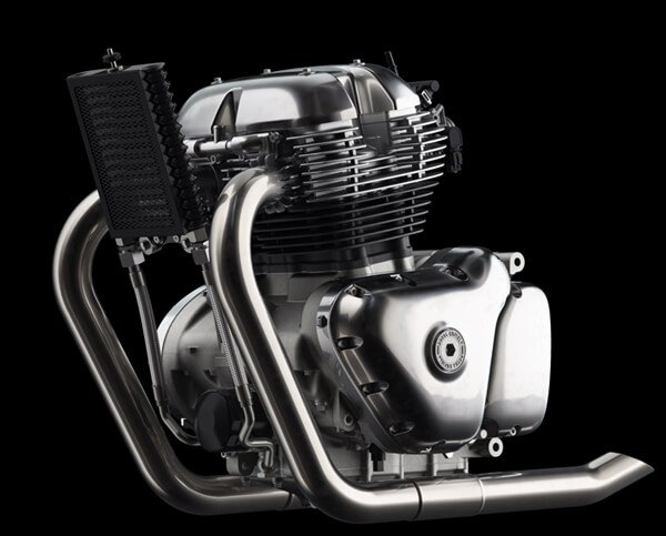 Royal Enfield Interceptor and GT Continental GT 650 Engine