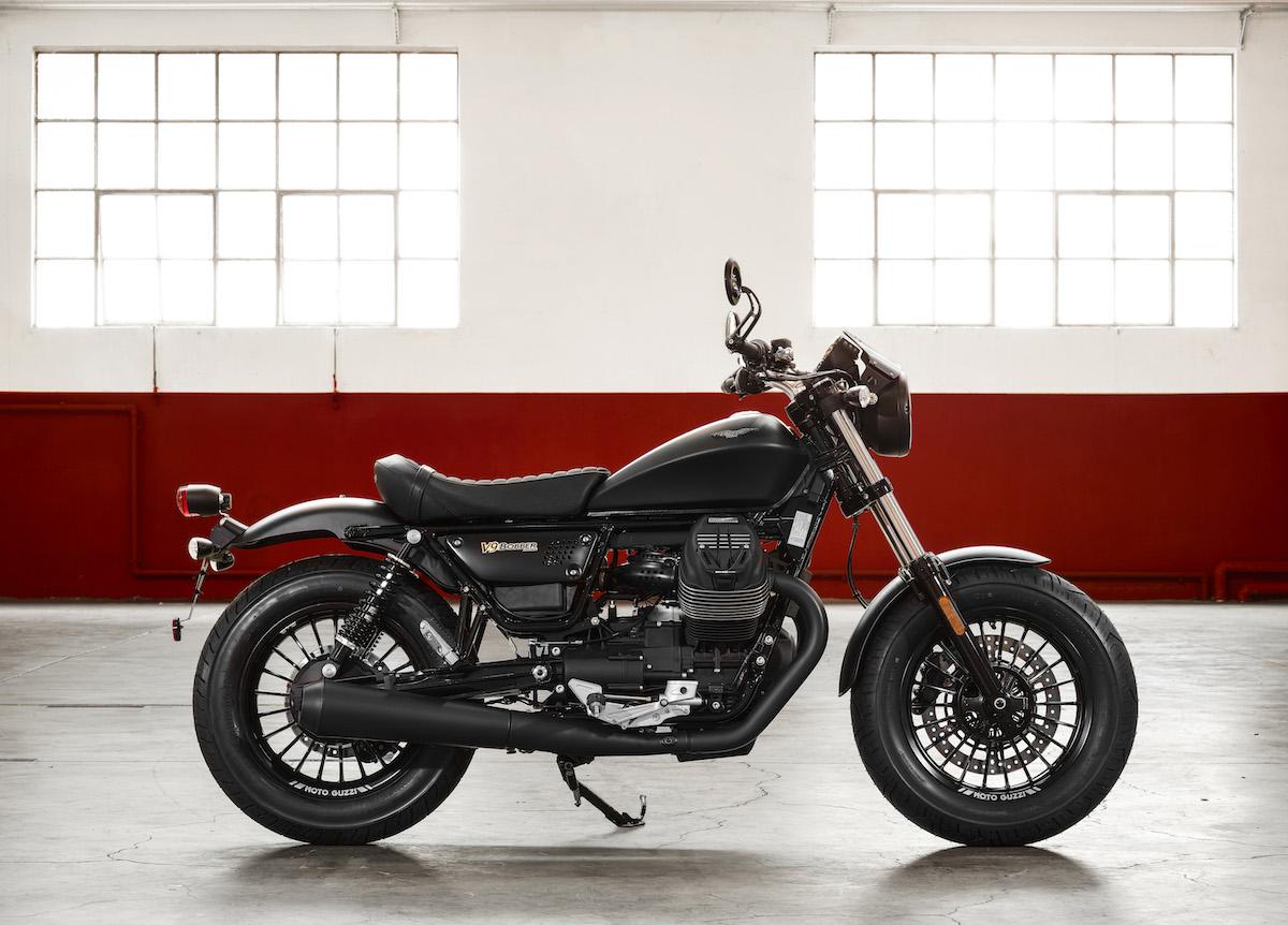 Moto Guzzi V9 Bobber Custom - Right Side