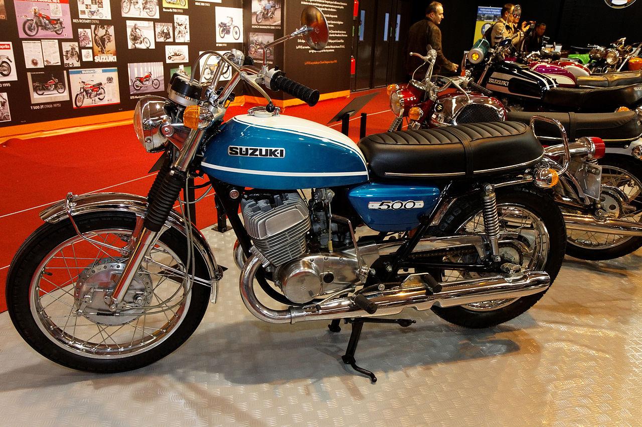 Suzuki T500 1963