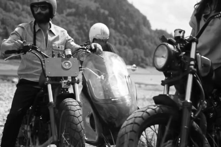 BLITZ MOTORCYCLES EDWIN JEANS