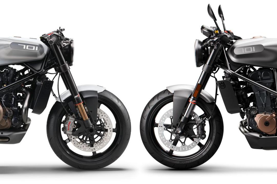 Husqvarna Vitpilen 701 Concept vs. Production