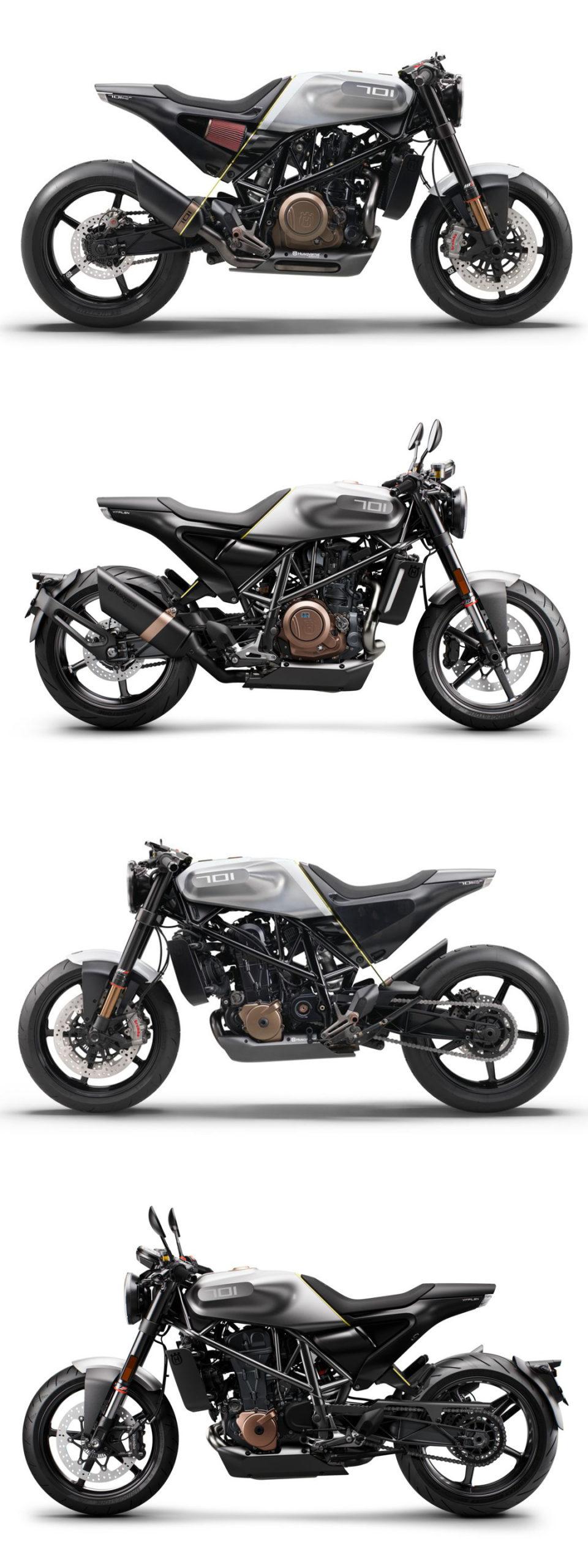 Vitpilen 701 Concept vs. Production