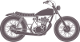 View more Custom Bratstyle Motorcycle builders on Renchlist