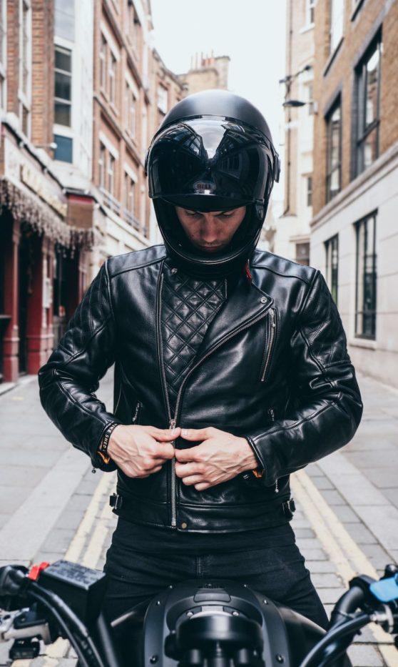 Goldtop England Black Bobber Jacket