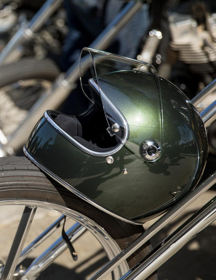 Biltwell Gringo S Racing Green - ECE Approved Helmet