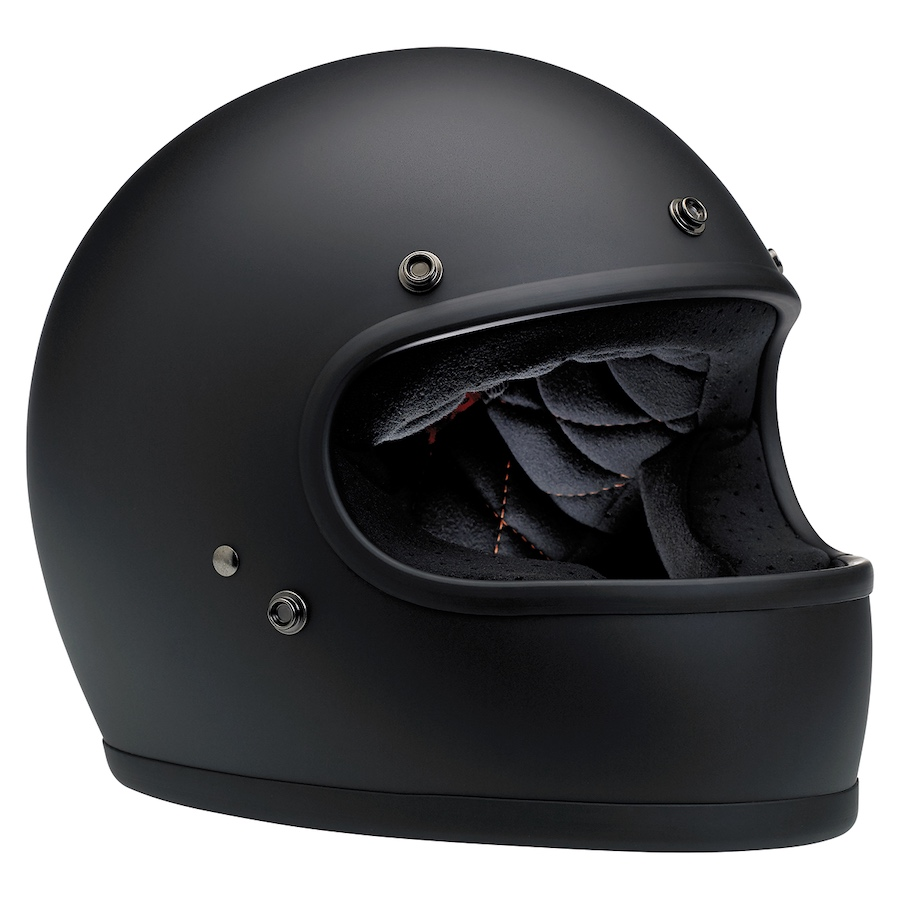 New Biltwell Gringo Helmet ECE Approved Matt Black