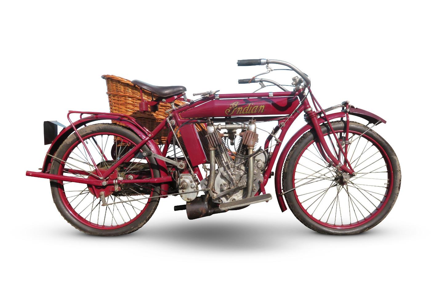 1913 Indian 7hp Model E Combination