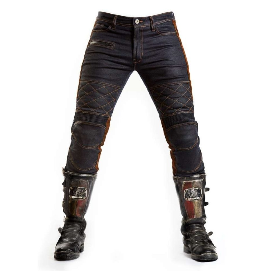 FUEL Sergeant Waxed Motorcycle Jeans