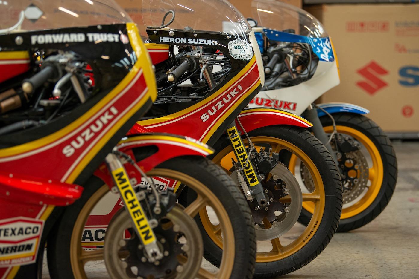 Barry Sheene Suzuki Race Bikes To Be Restored