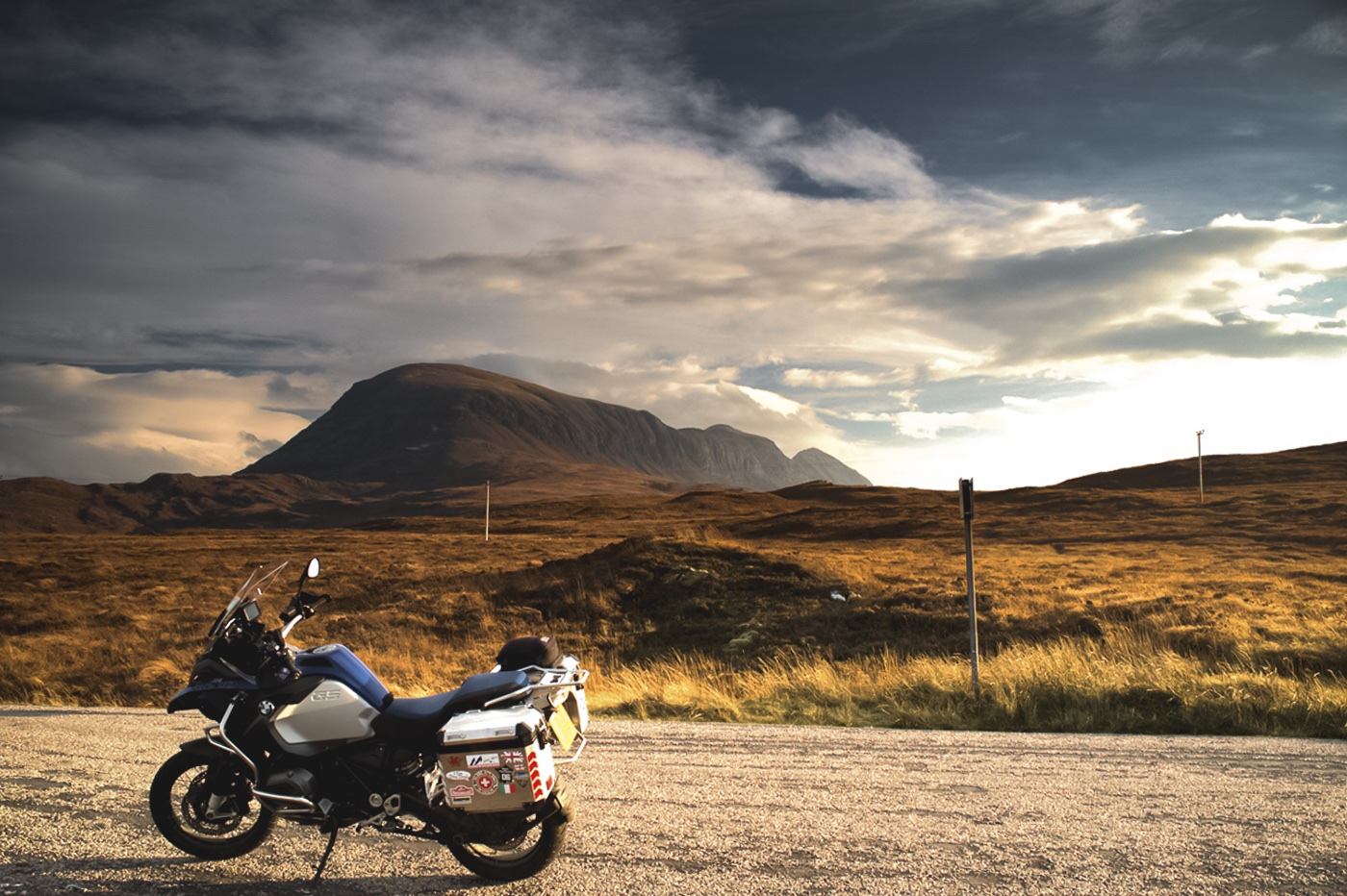 BikerBnB Highland Motorcycle Tour