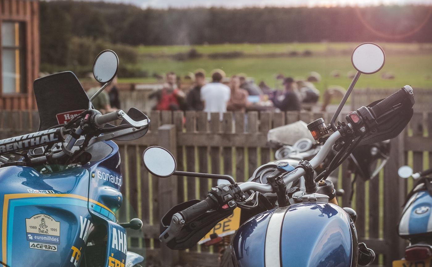 BikerBnB Group Ride Evening