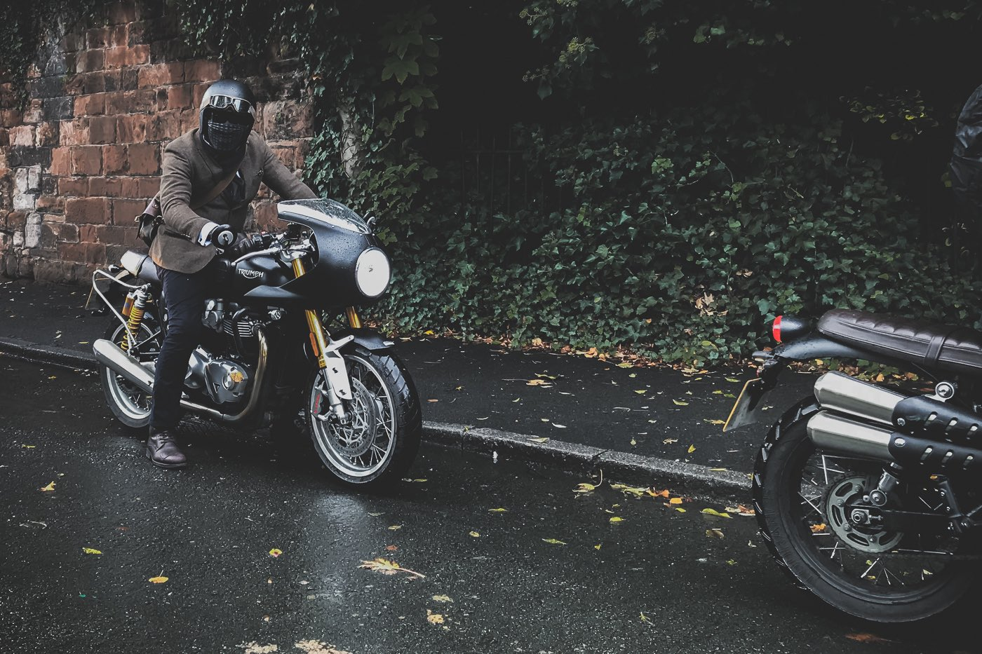 Triumph Thruxton R at DGR 2019