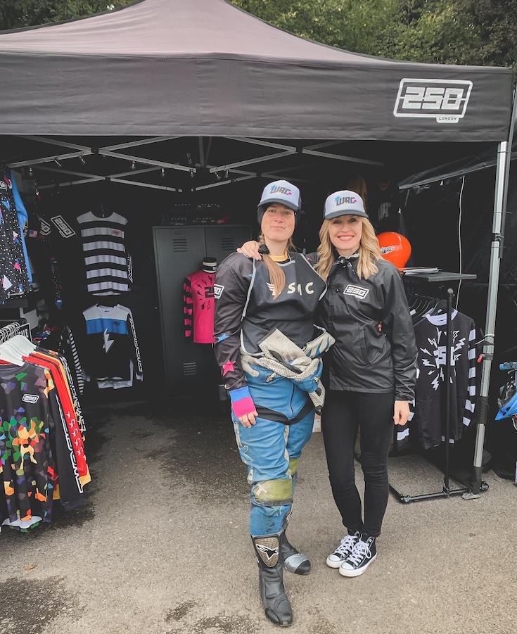 WRC member, Chrissie Walton at Bike Shed Fest