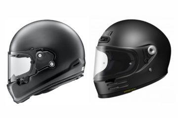 Shoei Glamster and Arai Rapide Neo Retro Motorcycle Helmets v2