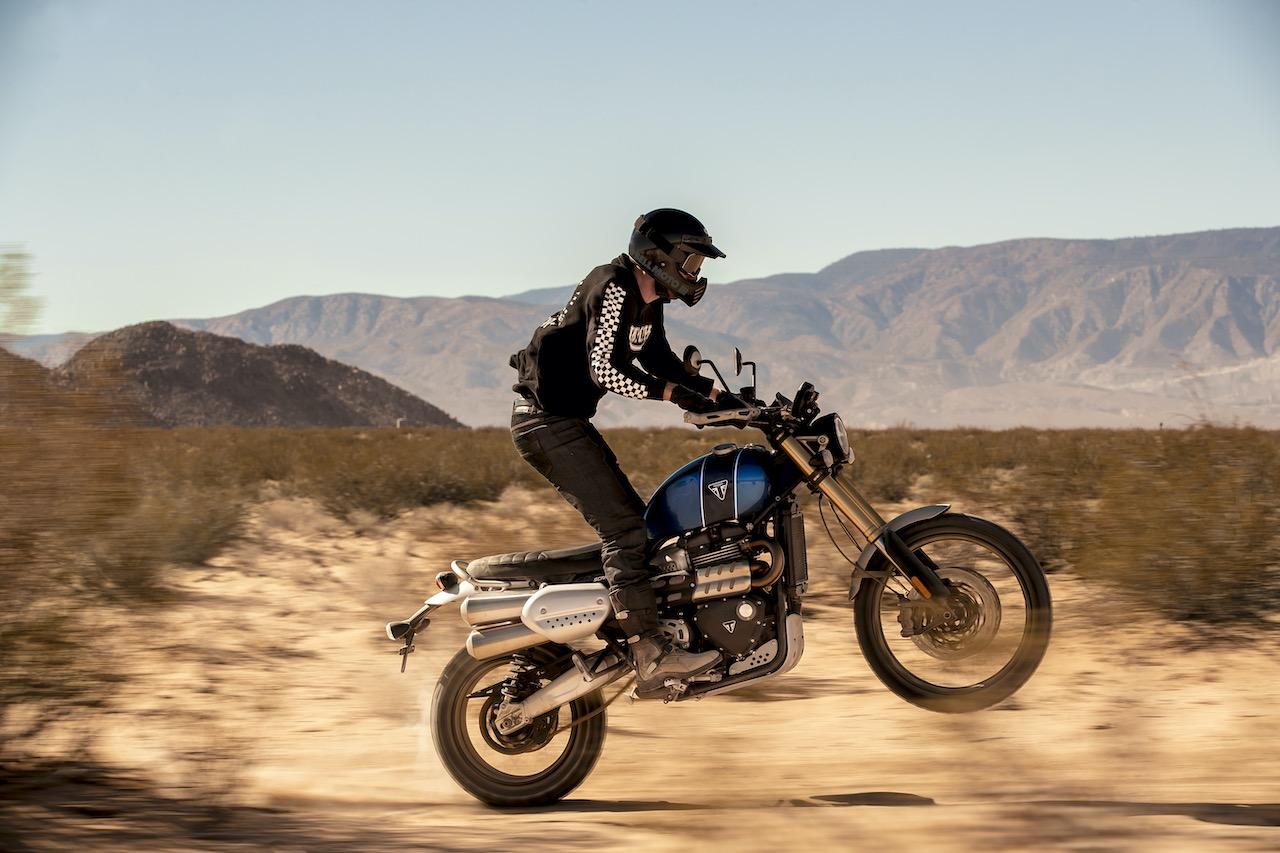 Retro Enduro Adventure Motorcycles - Triumph Scrambler 1200 XE