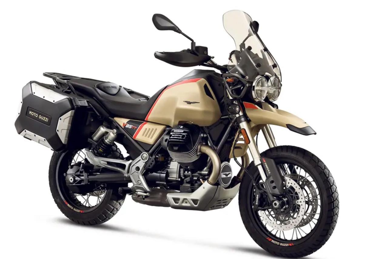 Neo-Retro Enduro Moto Guzzi V85 TT Travel