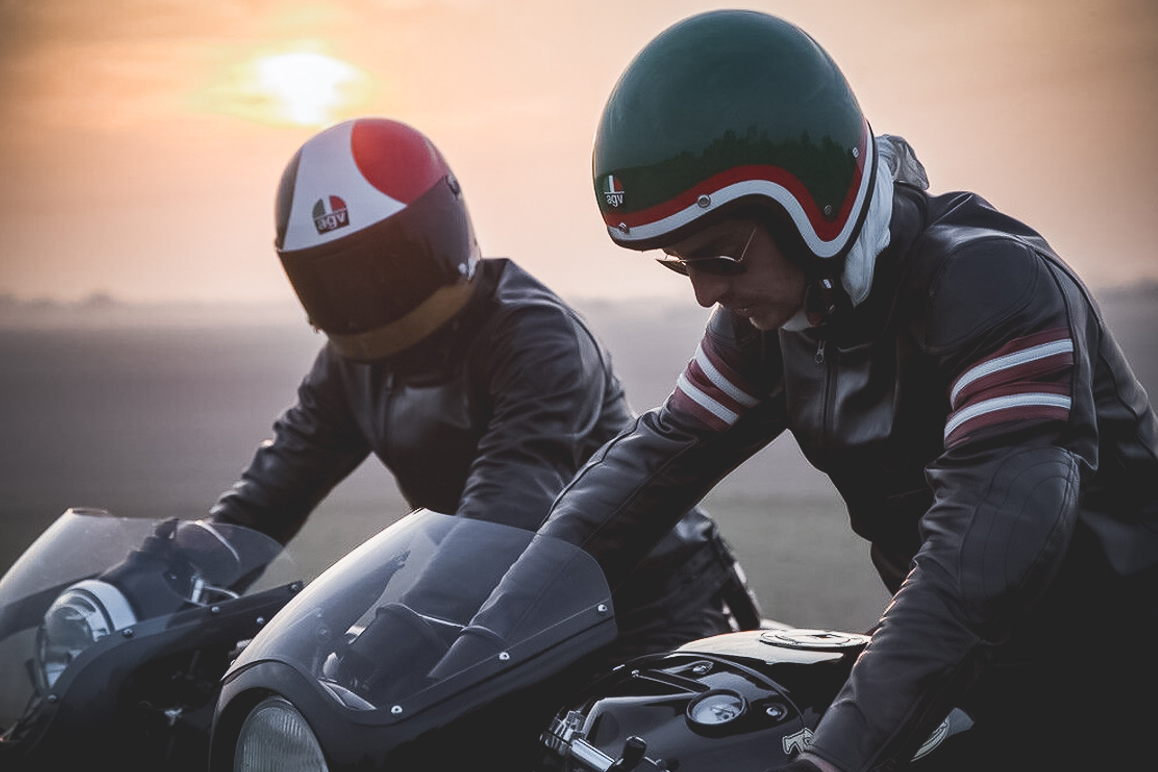 AGV X3000 and X70 Legends Motorcycle Helmets