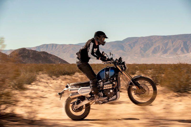 Retro Enduro Adventure Triumph Motorcycles Scrambler 1200 XE