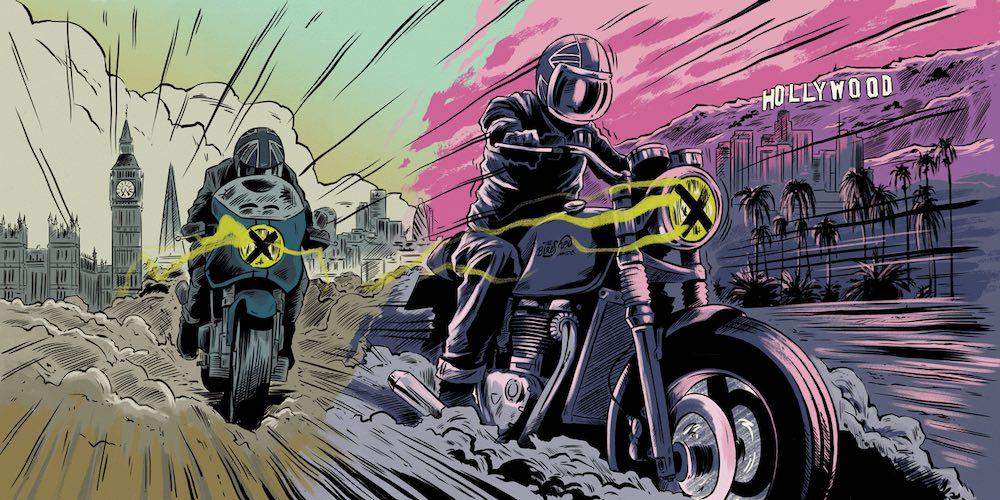 Bike Shed Motorcycle Club Los Angeles