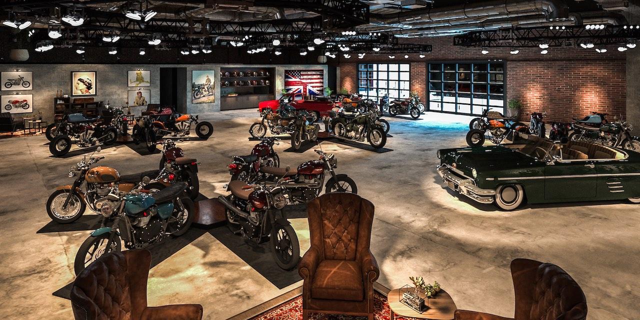 Bike Shed Motorcycle Club Los Angeles Custom Motorcycles